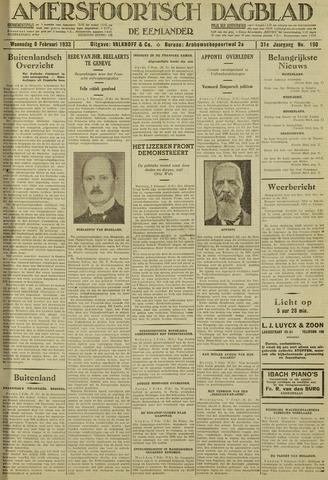 Amersfoortsch Dagblad / De Eemlander 1933-02-08