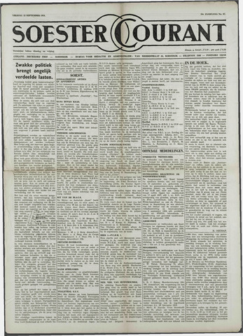 Soester Courant 1958-09-12