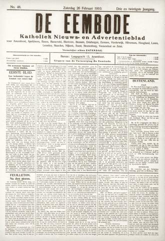 De Eembode 1910-02-26