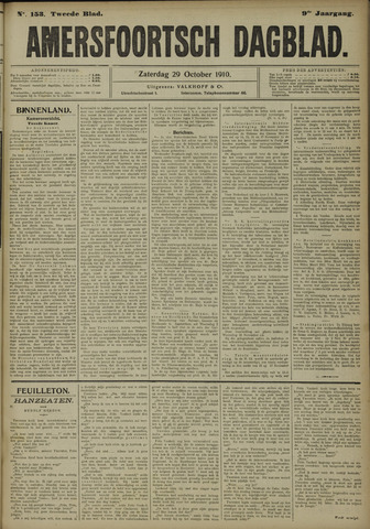 Amersfoortsch Dagblad 1910-10-29