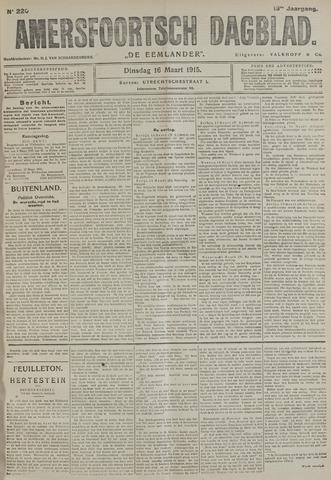 Amersfoortsch Dagblad / De Eemlander 1915-03-16