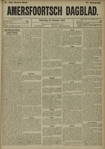 Amersfoortsch Dagblad 1910-10-22