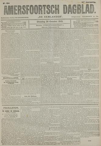 Amersfoortsch Dagblad / De Eemlander 1913-10-28