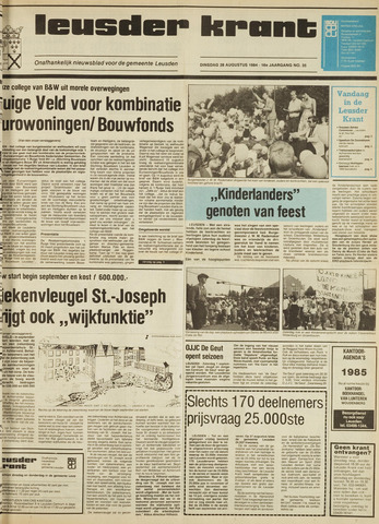 Leusder Krant 1984-08-28