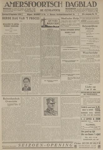 Amersfoortsch Dagblad / De Eemlander 1933-09-23