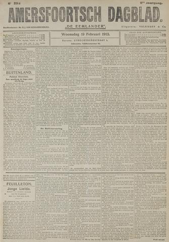 Amersfoortsch Dagblad / De Eemlander 1913-02-19