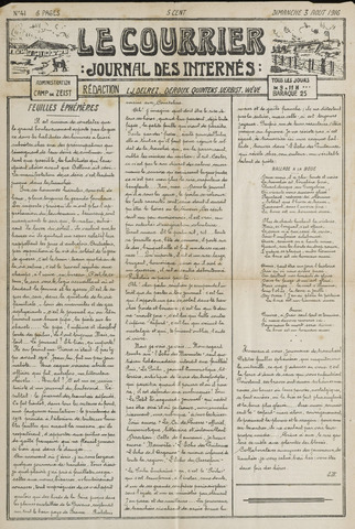 Le Courrier 1916-08-03