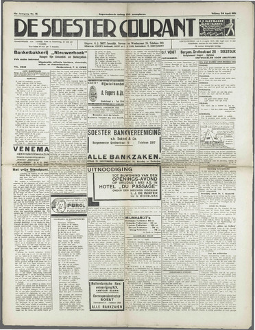 Soester Courant 1931-04-24