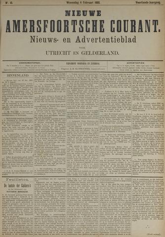 Nieuwe Amersfoortsche Courant 1885-02-04