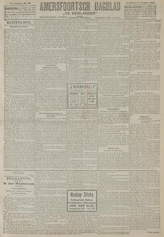 Amersfoortsch Dagblad / De Eemlander 1922-10-12