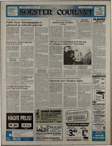 Soester Courant 1989-02-15