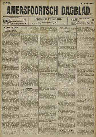 Amersfoortsch Dagblad 1907-02-27