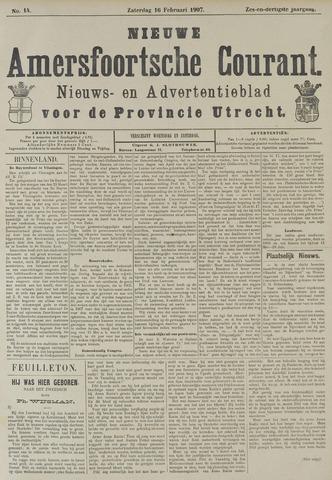 Nieuwe Amersfoortsche Courant 1907-02-16