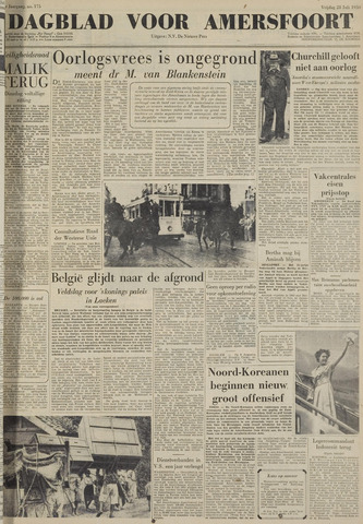 Dagblad voor Amersfoort 1950-07-28