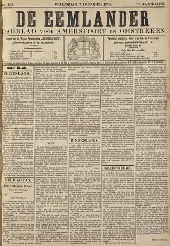 De Eemlander 1908-10-07