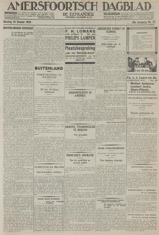 Amersfoortsch Dagblad / De Eemlander 1929-10-22