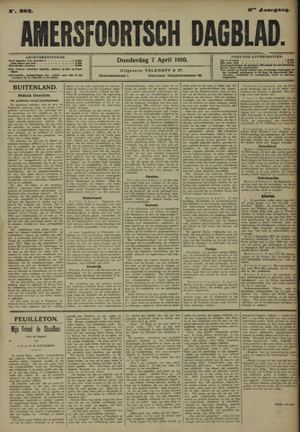 Amersfoortsch Dagblad 1910-04-07