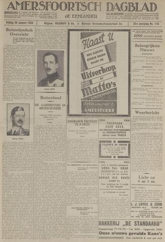 Amersfoortsch Dagblad / De Eemlander 1934-01-26