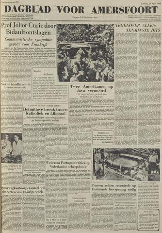 Dagblad voor Amersfoort 1950-04-29