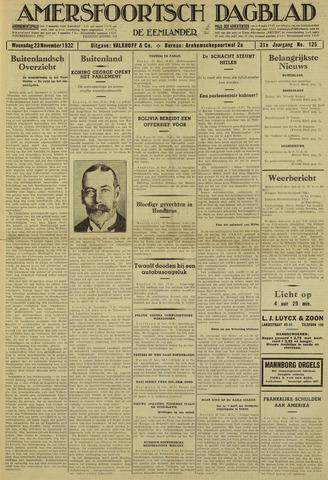 Amersfoortsch Dagblad / De Eemlander 1932-11-23