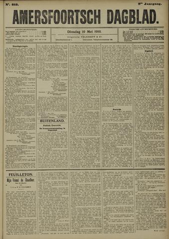 Amersfoortsch Dagblad 1910-05-10