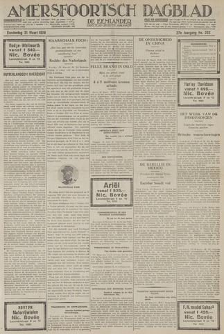 Amersfoortsch Dagblad / De Eemlander 1929-03-21