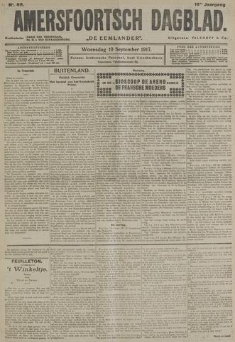 Amersfoortsch Dagblad / De Eemlander 1917-09-19