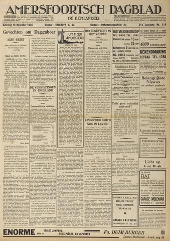 Amersfoortsch Dagblad / De Eemlander 1935-11-16