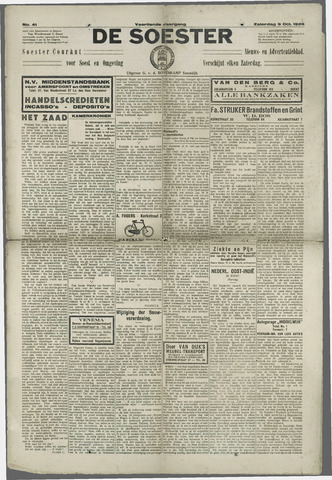 Soester Courant 1926-10-09