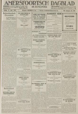 Amersfoortsch Dagblad / De Eemlander 1931-06-12