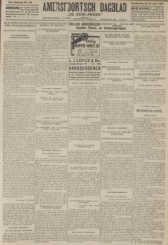 Amersfoortsch Dagblad / De Eemlander 1927-10-20