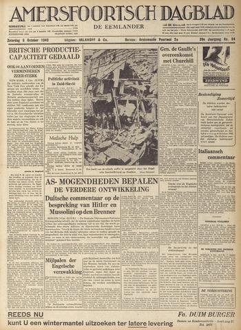 Amersfoortsch Dagblad / De Eemlander 1940-10-05