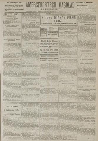 Amersfoortsch Dagblad / De Eemlander 1925-03-12