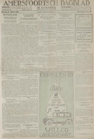 Amersfoortsch Dagblad / De Eemlander 1928-02-25