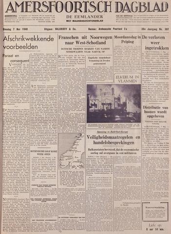 Amersfoortsch Dagblad / De Eemlander 1940-05-07