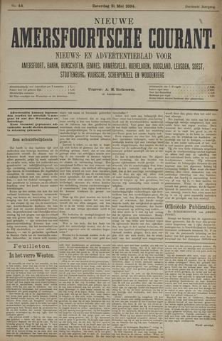 Nieuwe Amersfoortsche Courant 1884-05-31