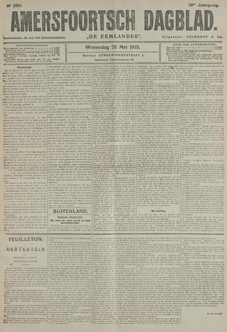 Amersfoortsch Dagblad / De Eemlander 1915-05-26