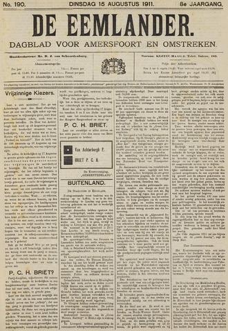 De Eemlander 1911-08-15