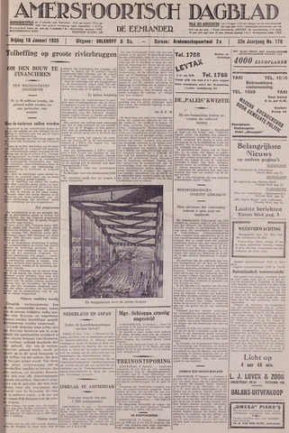 Amersfoortsch Dagblad / De Eemlander 1935-01-18