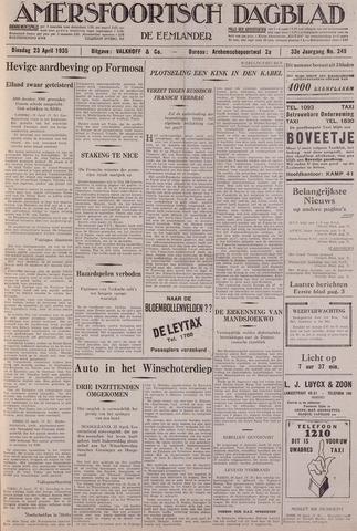 Amersfoortsch Dagblad / De Eemlander 1935-04-23