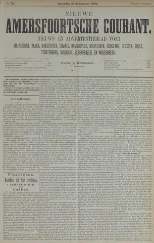 Nieuwe Amersfoortsche Courant 1883-09-22