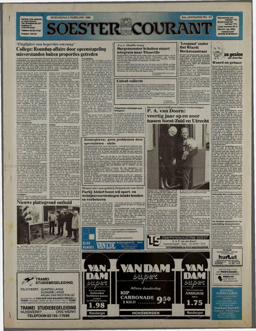 Soester Courant 1986-02-05