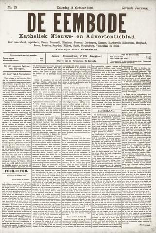De Eembode 1893-10-14