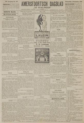 Amersfoortsch Dagblad / De Eemlander 1926-11-03