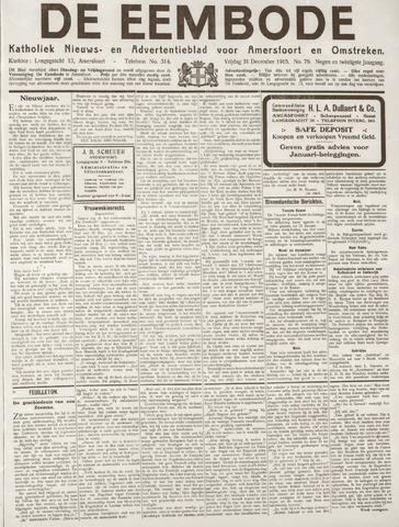 De Eembode 1915-12-31