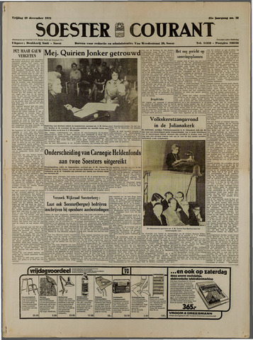 Soester Courant 1972-12-29