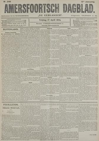 Amersfoortsch Dagblad / De Eemlander 1914-04-17