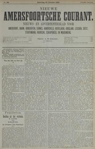 Nieuwe Amersfoortsche Courant 1883-10-20