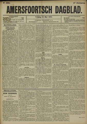 Amersfoortsch Dagblad 1905-05-12