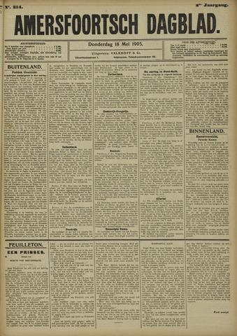 Amersfoortsch Dagblad 1905-05-18